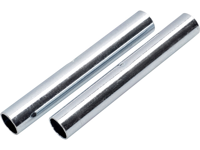 CAMPZ Sleeves for glass fibre poles 9 mm Set of 2 silber